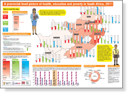 a provincial level picture of health education and poverty in SA 2011